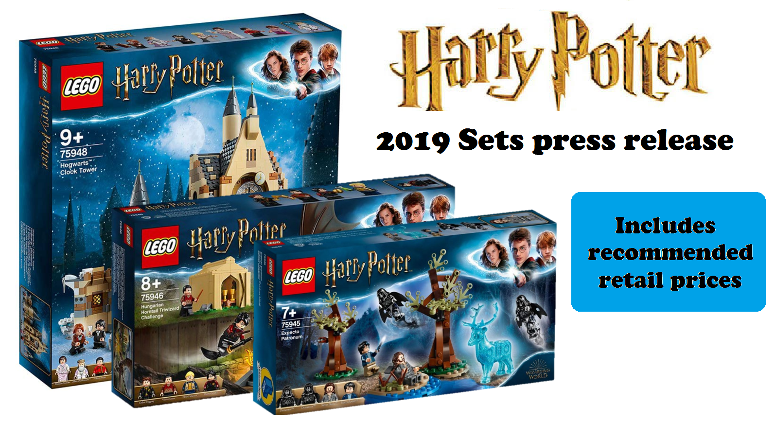 2019 Harry Potter Sets Official Press Release