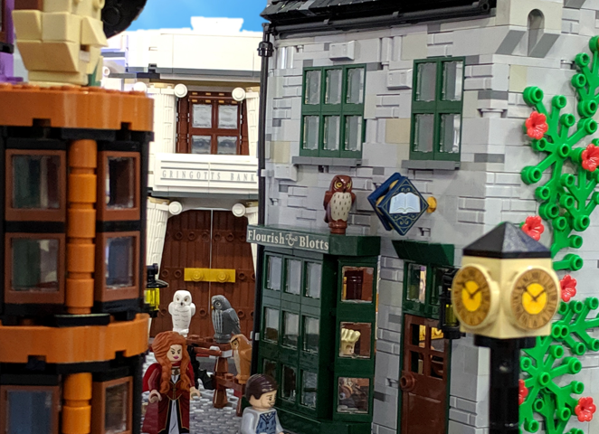 Diagon alley, feature